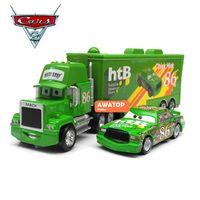 Wholesale pixar cars toys diecast metal mack truck hauler chick hicks Racing car No classic toys for children kids