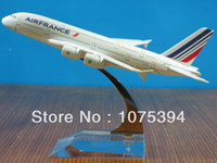 airbus new aircraft - New AIR FRANCE A380 Airbus A380 Passenger Airplane Plane Aircraft Metal Diecast Model Collection