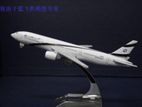 airlines israel - Airlines Boeing B777 aircraft model Israel airplane model cm metal plane model