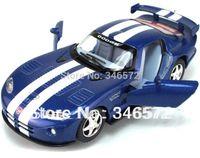 alloy dodge - Kinsmart soft world dodge viper vympel car model llc alloy WARRIOR car toy tractor models toys