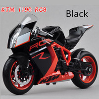 alloy ktm - HOT Metal model for KTM RC8 With suspension Alloy super motorcycle Model colors to choose