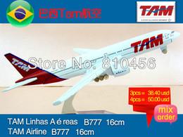 Wholesale Brazil TAM airline gift airplane model aircraft plane model kit chrimas gift