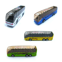 air bus models - Metal MODEL DIE CAST AIR PORT BUS OR TOUR BUS classic toys for children boys Children s Day gift Global Free