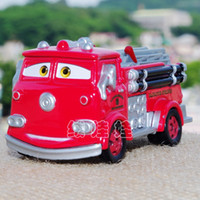Cheap Wholesale-100% TOMY TOMICA ORIGINAL PIXAR CARS*BRAND NEW 1:55 SCALE DIECAST*METAL MODEL TOY CARS FOR KIDS*CARS-FIRE TRUCK RED