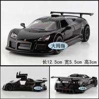 apollo sports - Candice guo New arrival super cool mini Gumpert Apollo supercars sports car alloy model car toy pc