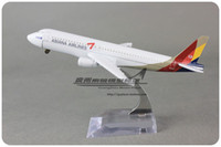 asiana airlines - cm Airplane Model ASIANA AIRLINES Airbus A320 Airways Aircraft Alloy Airways Plane Model Diecast Souvenir Toy Vehicle Gift