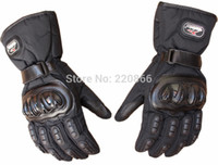 Wholesale Thermal gloves waterproof windproof electric bicycle automobile race motorcycle gloves winter cold proof full