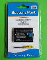 Wholesale Replacement rechargeable battery pack with screwdriver for Nintendo DS N3DS Accessories