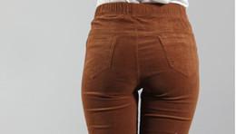 Discount Women's Elastic Waist Corduroy Pants | 2017 Women's ...