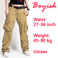 camo clothing - CPAM wide leg army pants military camo cargo overalls for women hip hop camouflage clothing
