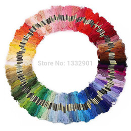 Wholesale Cross Stitch Floss Cotton Thread Embroidery Sewing Multi Colors New