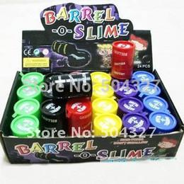 Wholesale Pieces Trick paint Spilled Paint Pot Barrel o Slime Barrel Slime