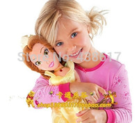 beauty and the beast doll - Original Disny Princess Doll Plush Toys cm Beauty and the Beast Belle Princesse Dolls For Kids Girls Gift