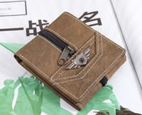air force wallet - New Fashion Air Force Army Tactical Men Wallet for Men s Canvas Coin Purse Retro Punk Short Wallets
