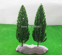 Wholesale S16060 Model Pine Trees Deep Green For O G Scale Layout mm New