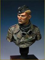 Wholesale World War II Waffen SS Armoured Soldier Resin Bust