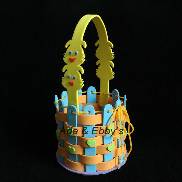 Flower Baskets Crossword Clue : Wholesale eva diy cartoon flower basket handmade kids bag