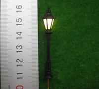 Wholesale LNH05 Model Railway Led Lamppost Lamps Street Lights HO N Scale cm V New