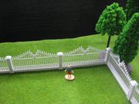 Wholesale LG10002 Meter Model Railway Building Fence Wall HO OO Scale NEW