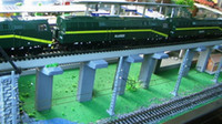 bachmann ho - QL004 Model Train Railway Wooden Bridge pier HO OO for Bachmann NEW