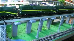 Wholesale QL004 Model Train Railway Wooden Bridge pier HO OO for Bachmann NEW