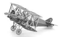 Wholesale Miniature Fokker D Vll D Metal Model Puzzle D Model Building Kits Puzzle D Solid Jigsaw Puzzle Scale Model Building Set