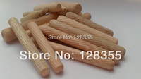 Wholesale M8X60MM grooved fluted wooden dowel pin Wooden Dowel Sticks DIY Hobby Craft furniture screws bolts