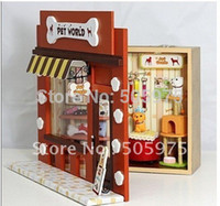 Wholesale dollhouse diy wooden Doll house