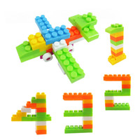 Wholesale Kid Baby Educational Toy Multicolor Assembled Creative Building Blocks children T east