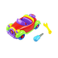 Wholesale Resuli new arrival Christmas Gift Kids Baby Child Boy Disassembly Assembly Classic car Toy amp