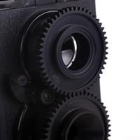 Wholesale Lomo Recesky DIY Twin Lens Reflex camera TLR Holga Lomo w Fujicolor mm film