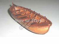 Wholesale Classic wooden sailing boat assembled set of material the ancient Mayflower boat model Aficionados