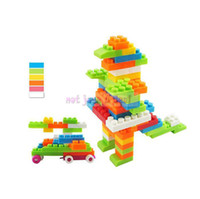 Wholesale Building Block Brick Baby Kids Toddler Educational Puzzle Toy Barrelled Assemble New