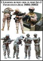 afghanistan war - US Army Soldier Crew Afghanistan Iraq B Resin Model Assembly Model Second World War Model WWII WW2