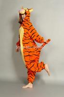 Wholesale Helloween New arrival tigger pajama kawaii Onesie anime hoodie Pyjamas cosplay