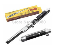 Wholesale Promotional Gift Custom Switchblade Folding comb Pocket Comb Switch Blade