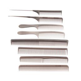 Wholesale-Hair Salon Tools 8Pcs Set Professional Salon Hair Comb Set Hairdressing Tools