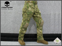 Wholesale Tactical Integrated Battle Pants with Detachable Knee Pads A TACS FG XXL free ship