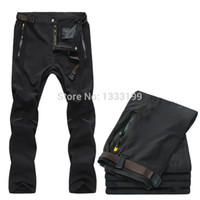 Wholesale Top quality Softshell pants Men Thin Quick dry hiking camping climbing fishing trekking pants Outdoor Sport Trousers L016