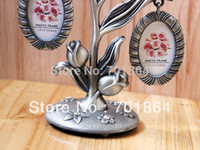 baby photo frames designs - New Arrival Pewter Photo Frames Family Baby Tree Tulip Flower Design Photos x quot High Quality Perfect