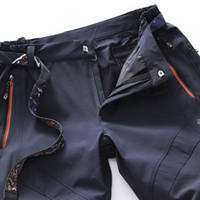 Wholesale new summer men s trousers outdoor quick dry pants sports mountain pants climbing hiking pants wolfskins L XL