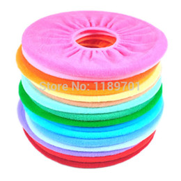 Wholesale package Cute Bathroom Toilet Closestool Washable Warm Soft Round Seat Cover Pad Mat