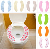 Wholesale Set Adhensive Warm Health Sticky Toilet Mat Seat Cover Pad