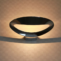 aluminium wall art - Modern Design silver aluminium Smile Wall Lamp Light Soffitto Wall Lighting