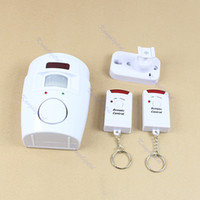 Wholesale Wireless IR Infrared Motion Sensor Detector Alarm Remote Home Security System