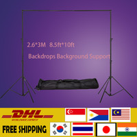 Wholesale DHL M ft ft Professinal Photography Photo Backdrops Background Support System Stands studio carry bag