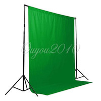 green screen - Green Screen Backdrop x9 FT Muslin Video Photo Photography Lighting Studio Background