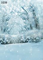 Wholesale CM CM new2015 vinyl photography backdrops photo studio photographic background snow and christmas