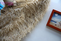 area canvas - Khaki Curly Mongolian Faux Fur Area Basket Stuffer Photo Prop Beige Fur Fabric Neutral Photography Prop Jungle Sheep Skin Rug