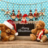Wholesale thin vinyl Photography Backdrop Christmas Custom Photo Prop backgrounds ftX7ft D